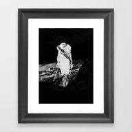 Black Hike Framed Art Print