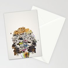Drawing Collage #03 Stationery Cards