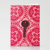 Love Key 1 Stationery Cards