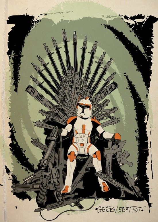 Game of Clones Art Print