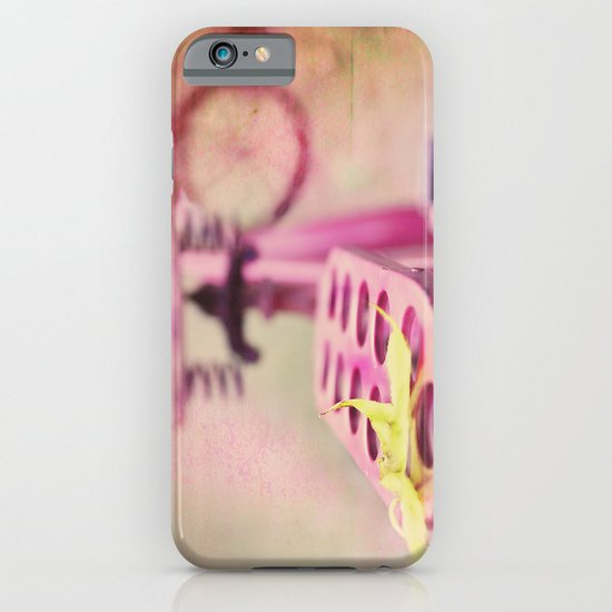 I Rode My Bicycle Past Your Window Last Night iPhone & iPod Case