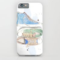iPhone & iPod Case featuring Converse Shoes by Jessica Feral