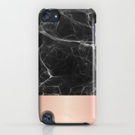 Black Marble And Pink  iPod touch Slim Case