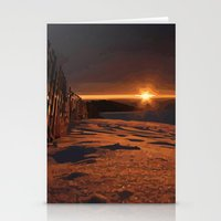 Sunrise Sets Stationery Cards
