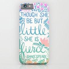 Little & Fierce – Lavender Mint Ombré iPhone 6 Slim Case