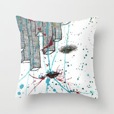 Right Side Up Throw Pillow