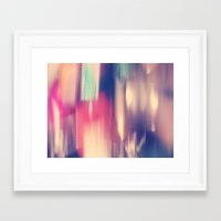 Nails//Three Framed Art Print