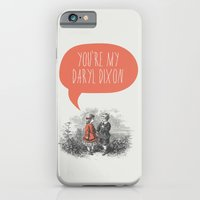 walking dead iPhone & iPod Cases featuring Walking Dead Love Story by Zeke Tucker