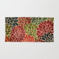 Floral Abstract 7 Hand & Bath Towel