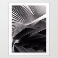 Paper Sculpture #7 Art Print