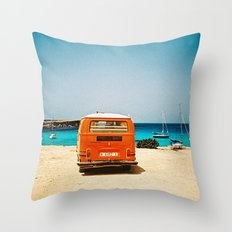 I'll wait for you Throw Pillow