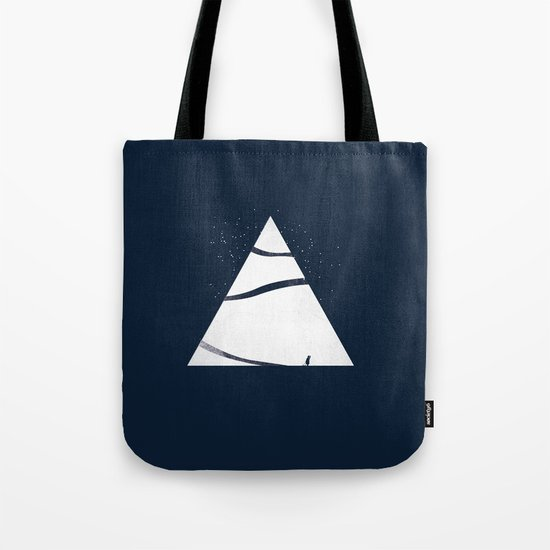 time to snow! Tote Bag