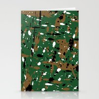 Camo Stationery Cards
