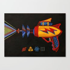 Cosmic Blaster Canvas Print