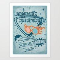 SpectreSpecs Art Print