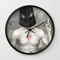 The Executioner Wall Clock