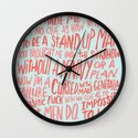 MENOMENA Wall Clock
