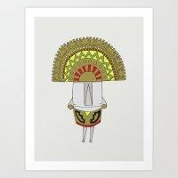 Inti Art Print