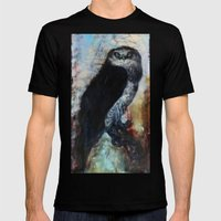 Audubon Mens Fitted Tee Black SMALL