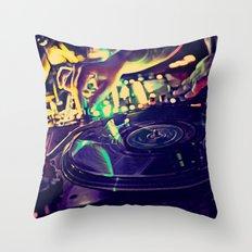 At Nightclub Throw Pillow
