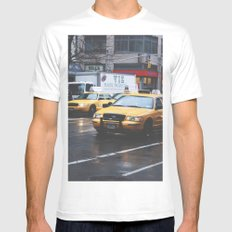 Born free Mens Fitted Tee SMALL White