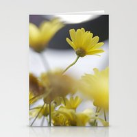 yellow daisies Stationery Cards