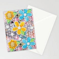 Paper Flower Power Stationery Cards