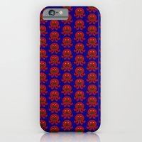 Mustached Octopi iPhone 6 Slim Case