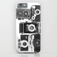 iPhone & iPod Case featuring Vintage Camera Collection by Jillian Schipper