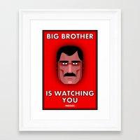 Big Brother #1 Framed Art Print