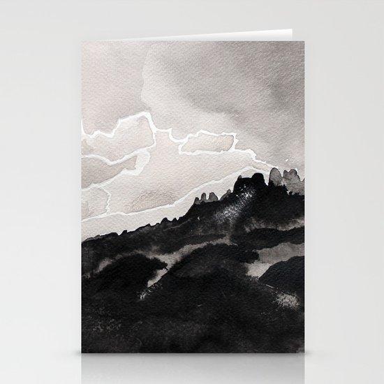 Thunderstorm Stationery Card