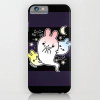 naughty halloween bunny ghost iPhone 6 Slim Case