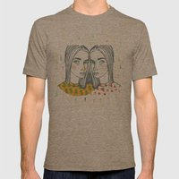 Last Sunset Twins Mens Fitted Tee Tri-Coffee SMALL