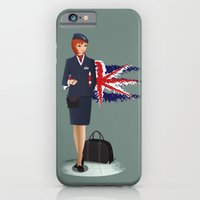 iPhone & iPod Case featuring Come fly with me, let's fly, let's fly away - England by Aleksandra Mikolajczak