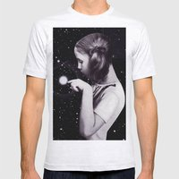 Stars Are Delicate Mens Fitted Tee Ash Grey SMALL