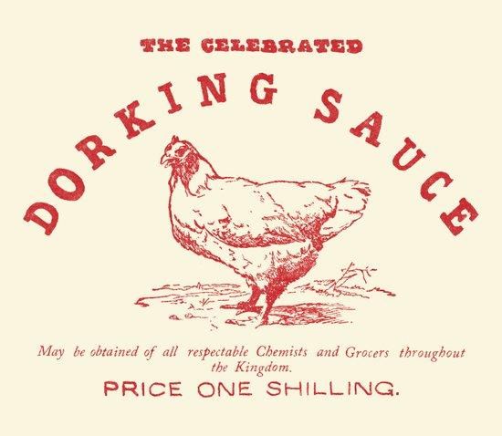 Dorking Sauce Art Print