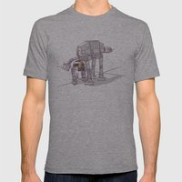 Not Quite A Fire Hydrant Mens Fitted Tee Athletic Grey SMALL