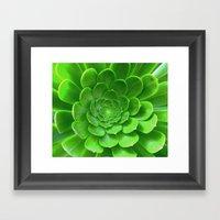 Green Within Framed Art Print