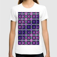 Pattern II Womens Fitted Tee White SMALL