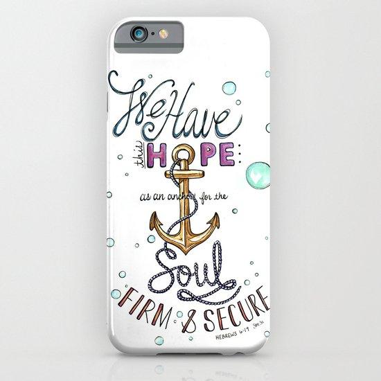 Hebrews 6:19 iPhone & iPod Case