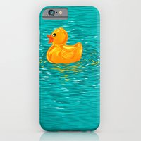 Quack Quack Says the Plastic Duck! iPhone 6 Slim Case