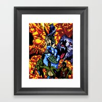 WARWOLF Framed Art Print