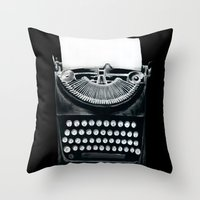 These Books Must Be Destroyed! Throw Pillow