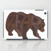 Bears Typography iPad Case