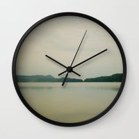 Herring Lake Dock Wall Clock