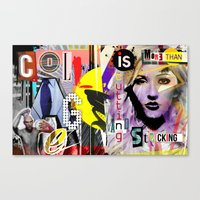 Collage Is More Than Jus… Canvas Print