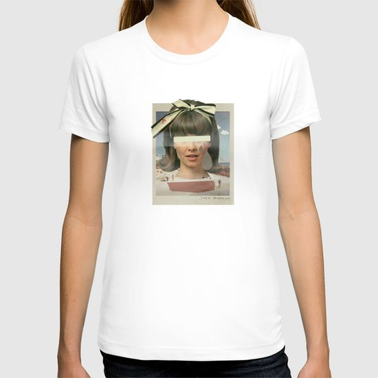 Tears In The Typing Pool   Collage T-shirt