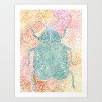 The Beetle Art Print