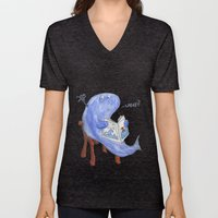 the whatwhale Unisex V-Neck