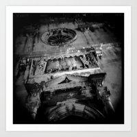 Midnight In Dubrovnik 03 Art Print